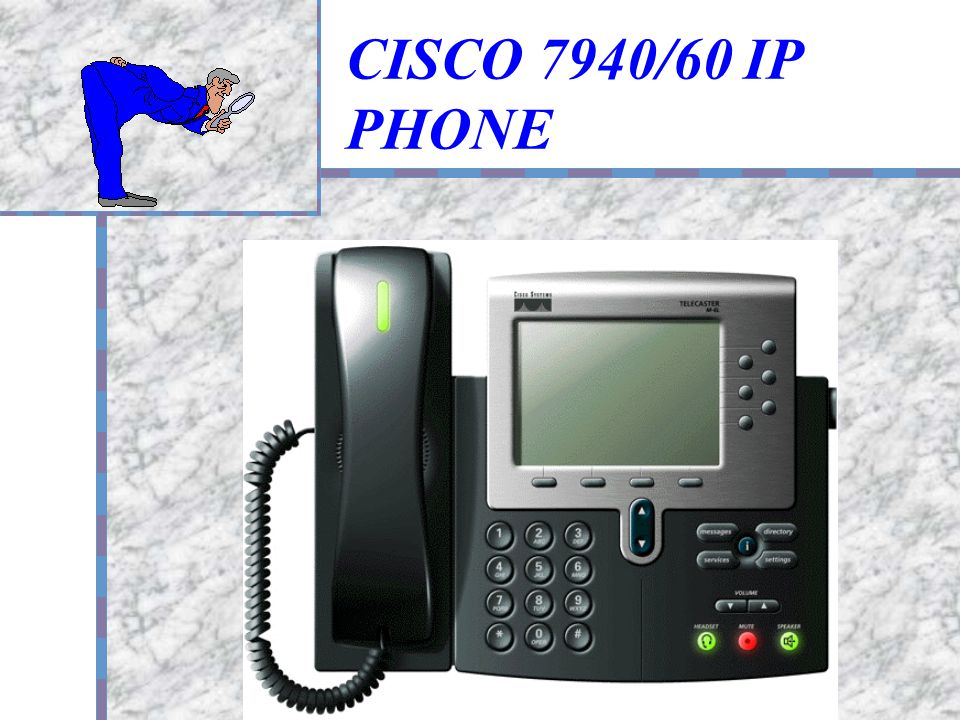 CISCO 7940/60 IP PHONE 產品商標