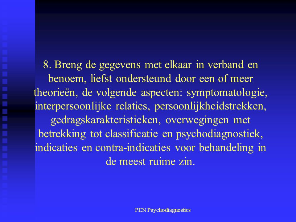 PEN Psychodiagnostics