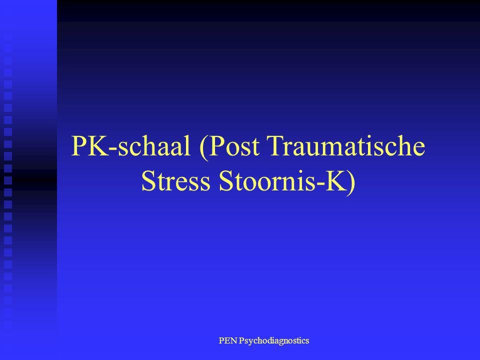 PK-schaal (Post Traumatische Stress Stoornis-K)