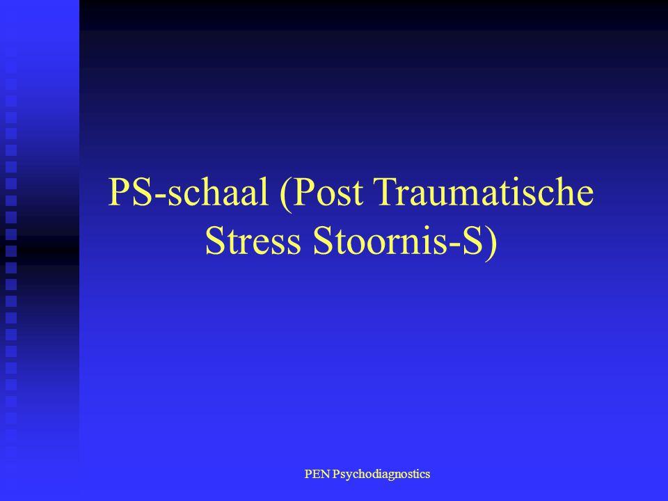 PS-schaal (Post Traumatische Stress Stoornis-S)