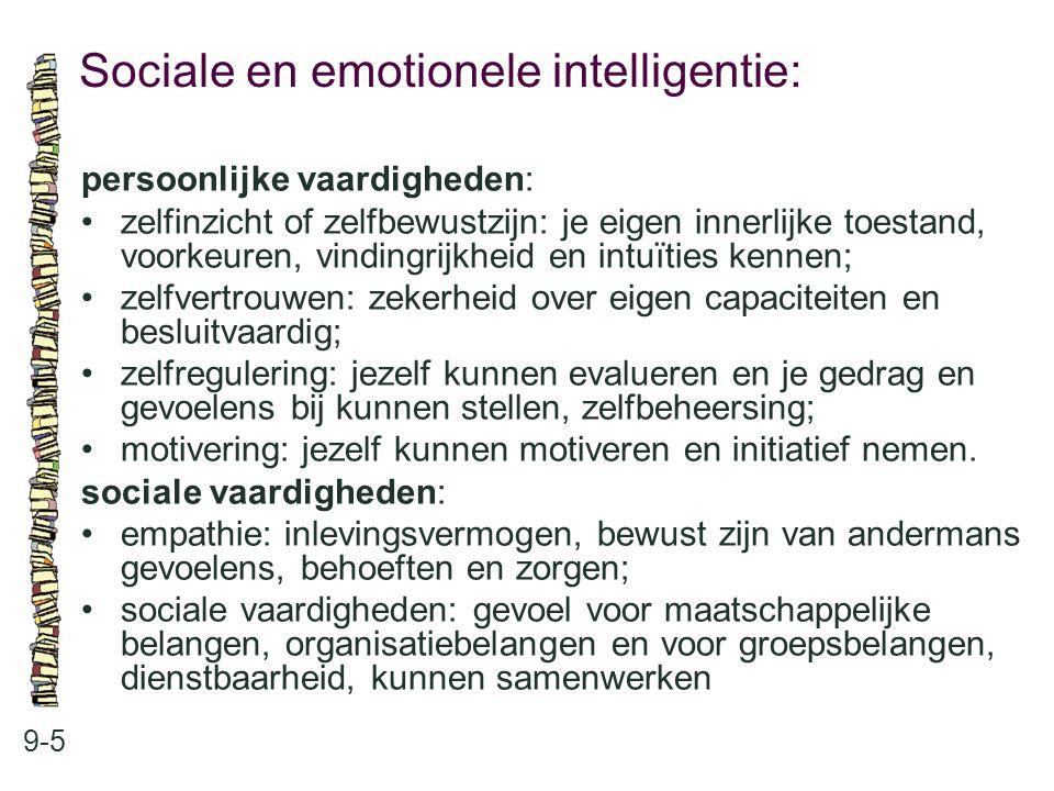 Sociale en emotionele intelligentie: