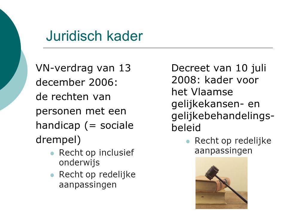 Juridisch kader VN-verdrag van 13 december 2006: de rechten van