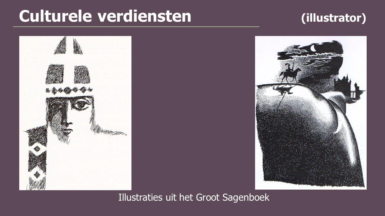 Culturele verdiensten (illustrator)
