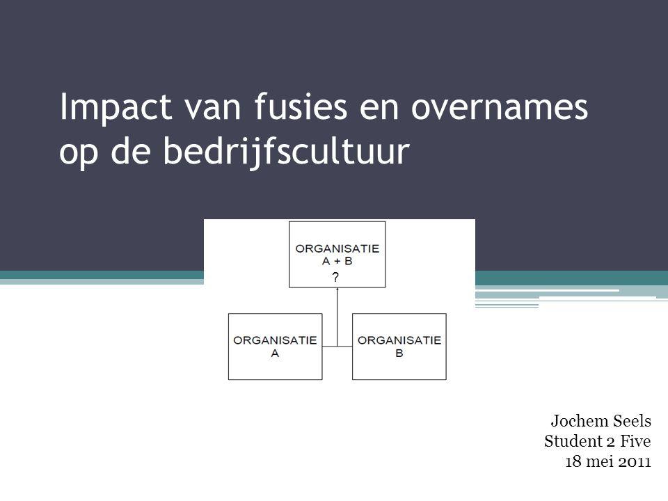 Impact van fusies en overnames op de bedrijfscultuur