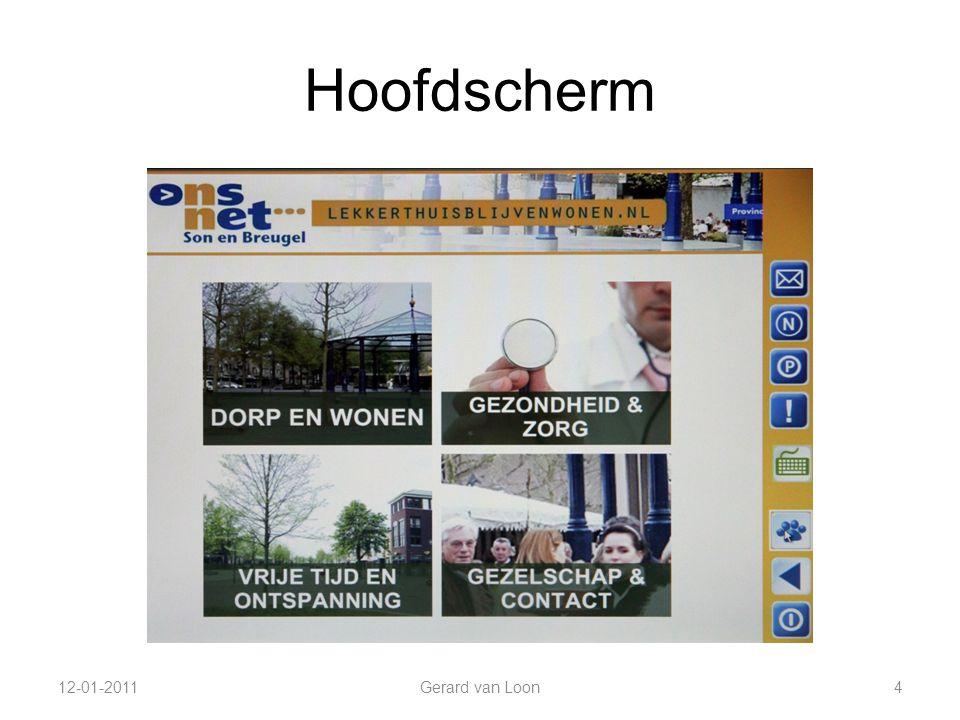 Hoofdscherm 12-01-2011 Gerard van Loon 4