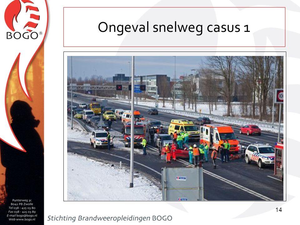 Ongeval snelweg casus 1