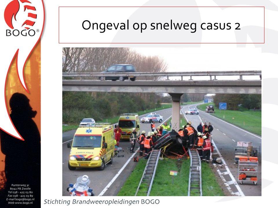 Ongeval op snelweg casus 2
