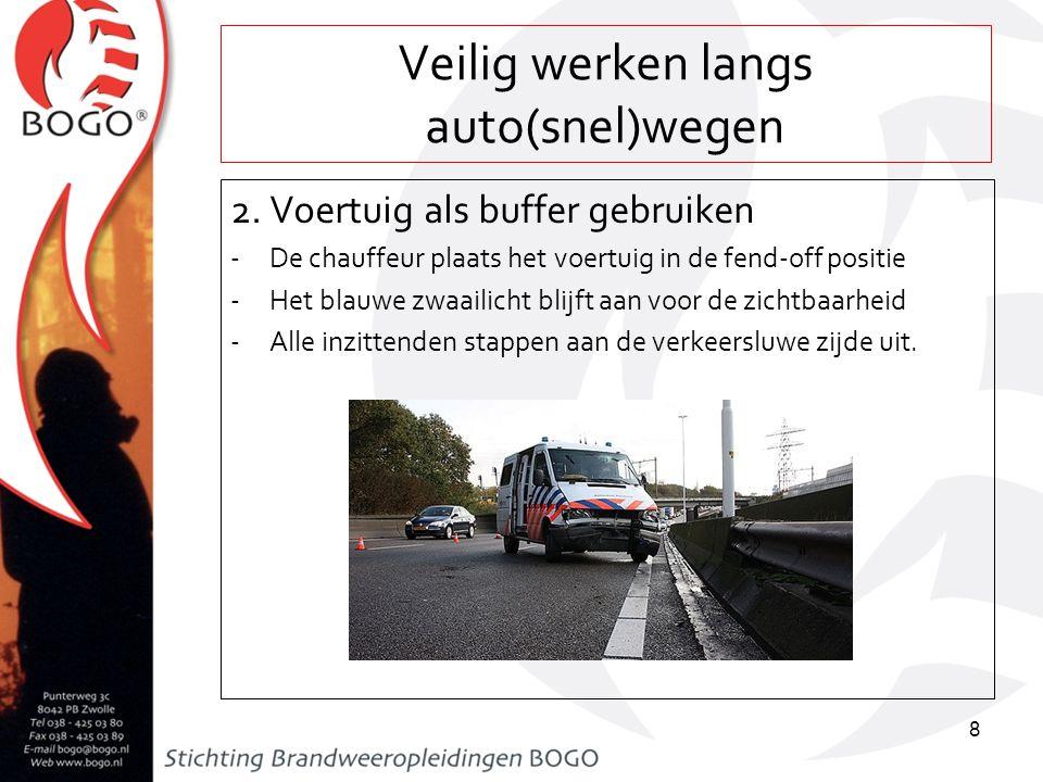 Veilig werken langs auto(snel)wegen