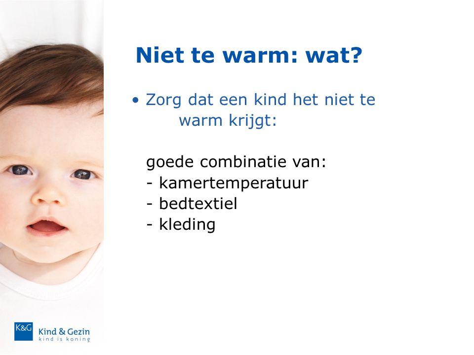 Niet te warm: wat Zorg dat een kind het niet te warm krijgt: