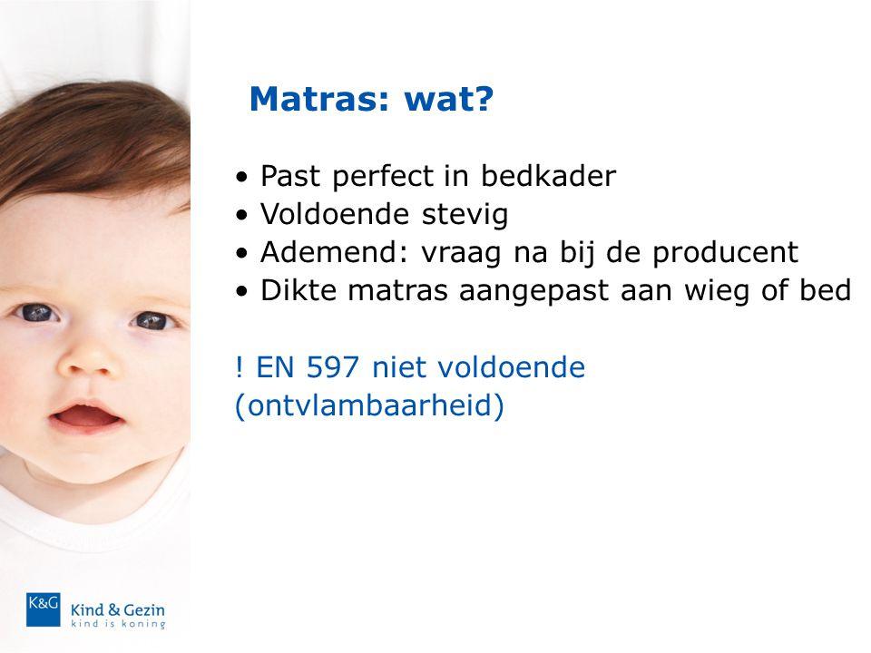 Matras: wat Past perfect in bedkader Voldoende stevig