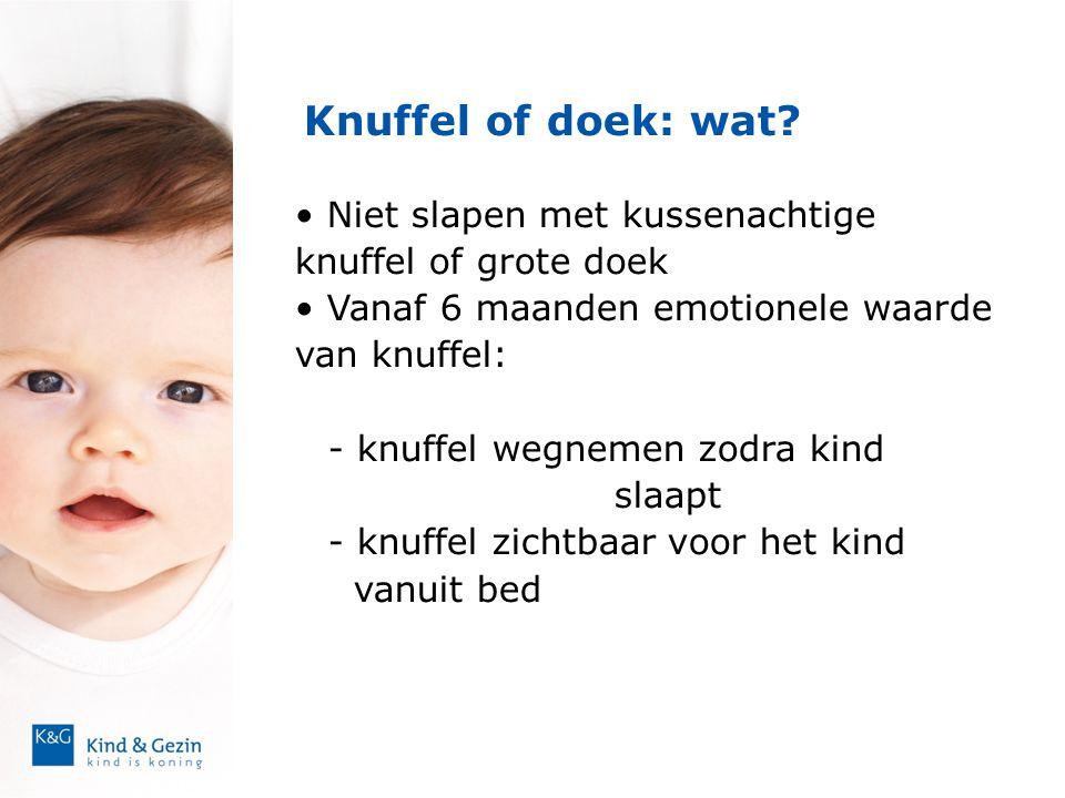 Knuffel of doek: wat Niet slapen met kussenachtige