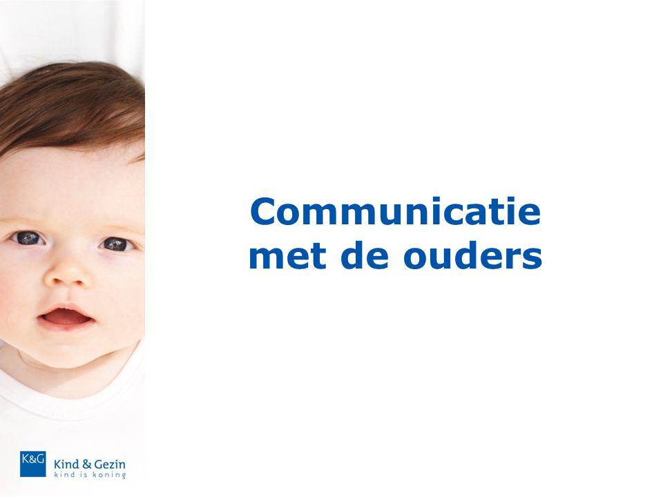 Communicatie met de ouders
