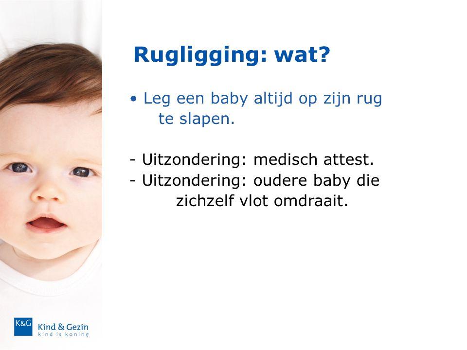 Rugligging: wat Leg een baby altijd op zijn rug te slapen.