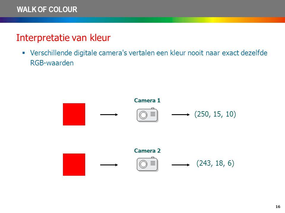Interpretatie van kleur