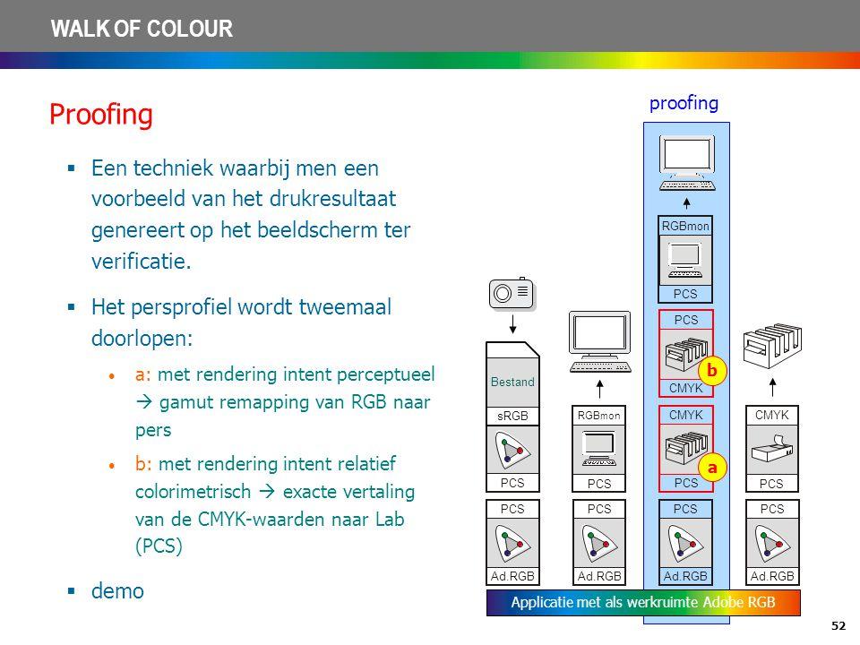 Applicatie met als werkruimte Adobe RGB