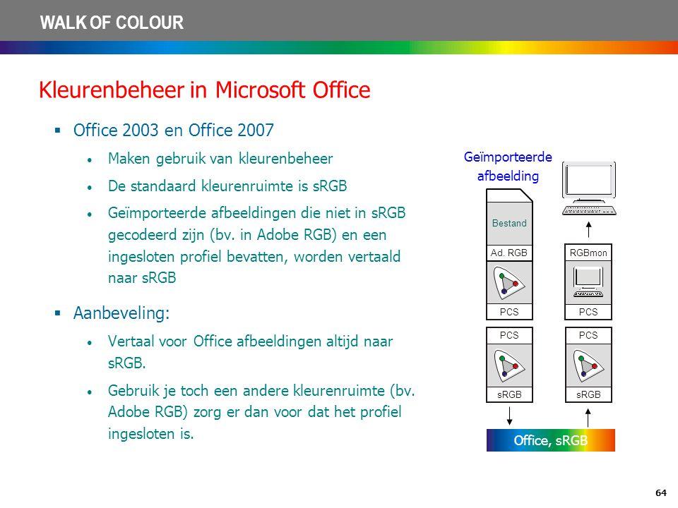 Kleurenbeheer in Microsoft Office