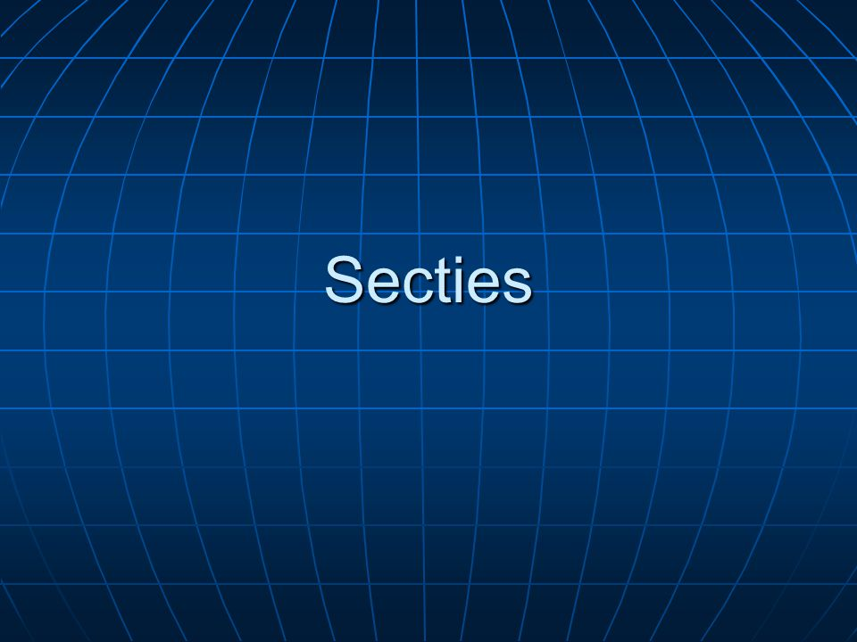Secties