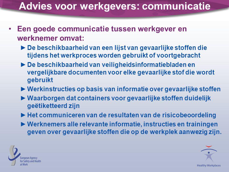 Advies voor werkgevers: communicatie