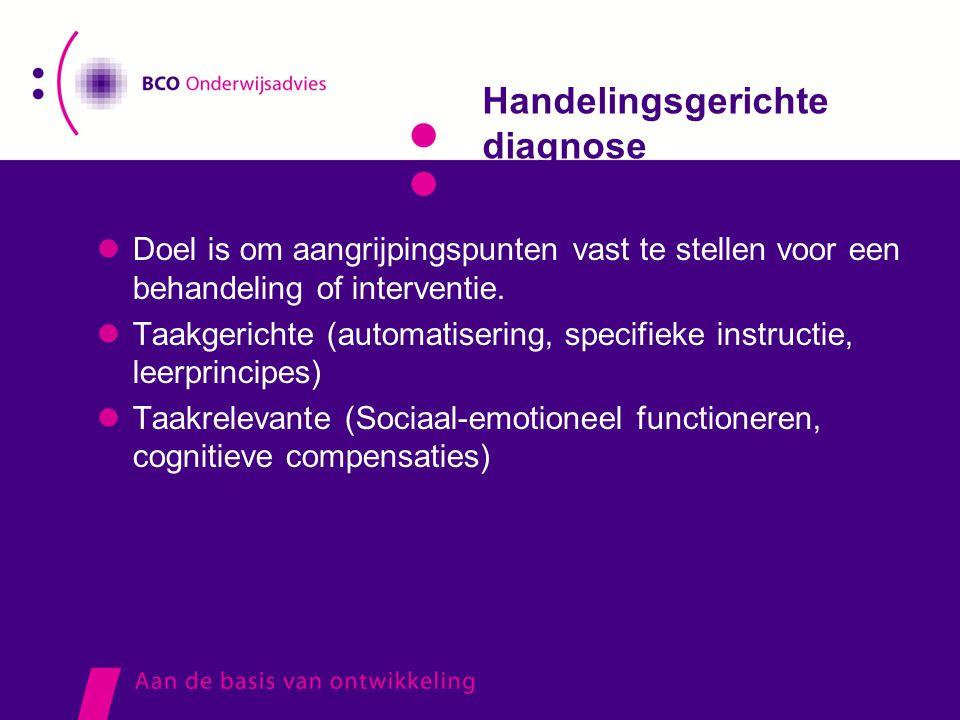 Handelingsgerichte diagnose