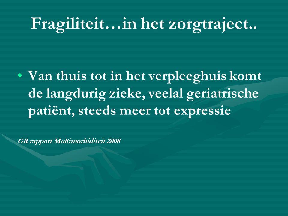 Fragiliteit…in het zorgtraject..