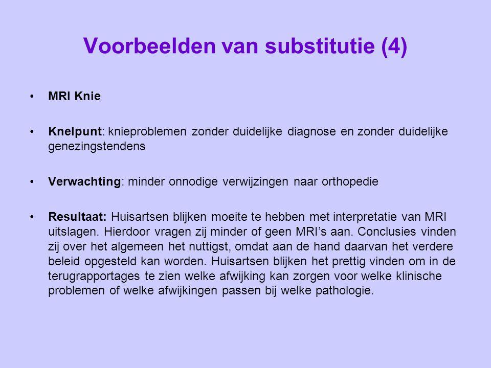 Voorbeelden van substitutie (4)