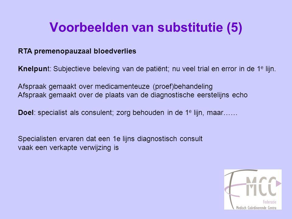 Voorbeelden van substitutie (5)