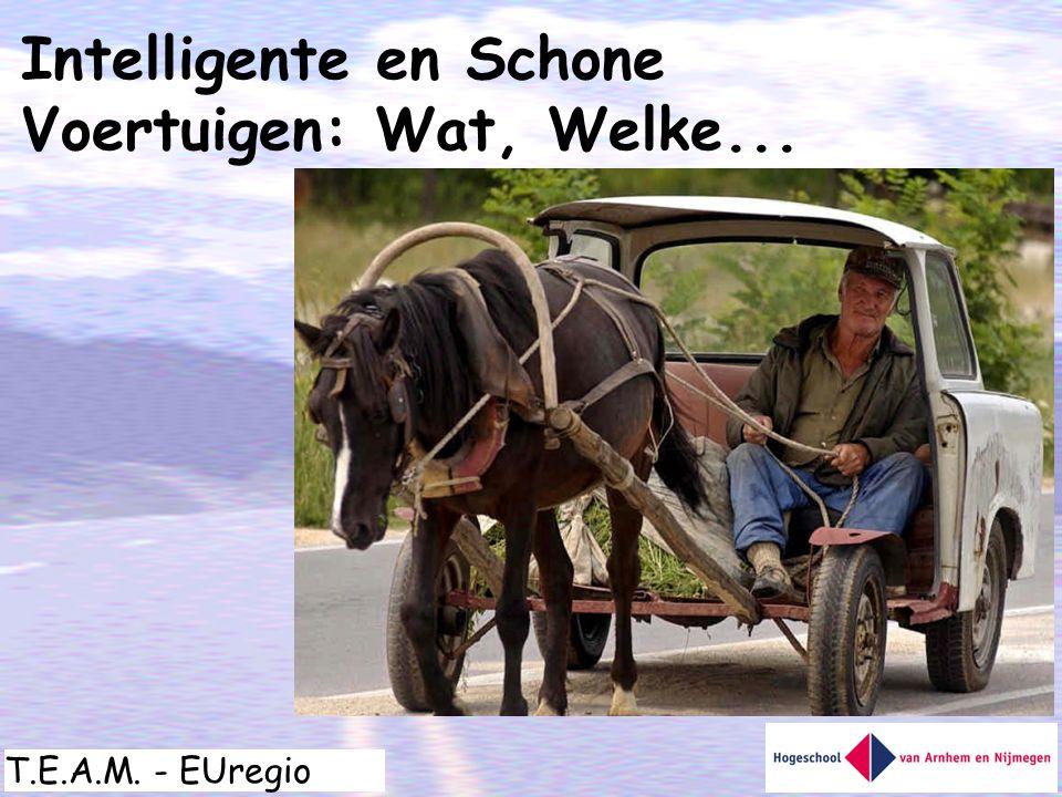Intelligente en Schone Voertuigen: Wat, Welke...