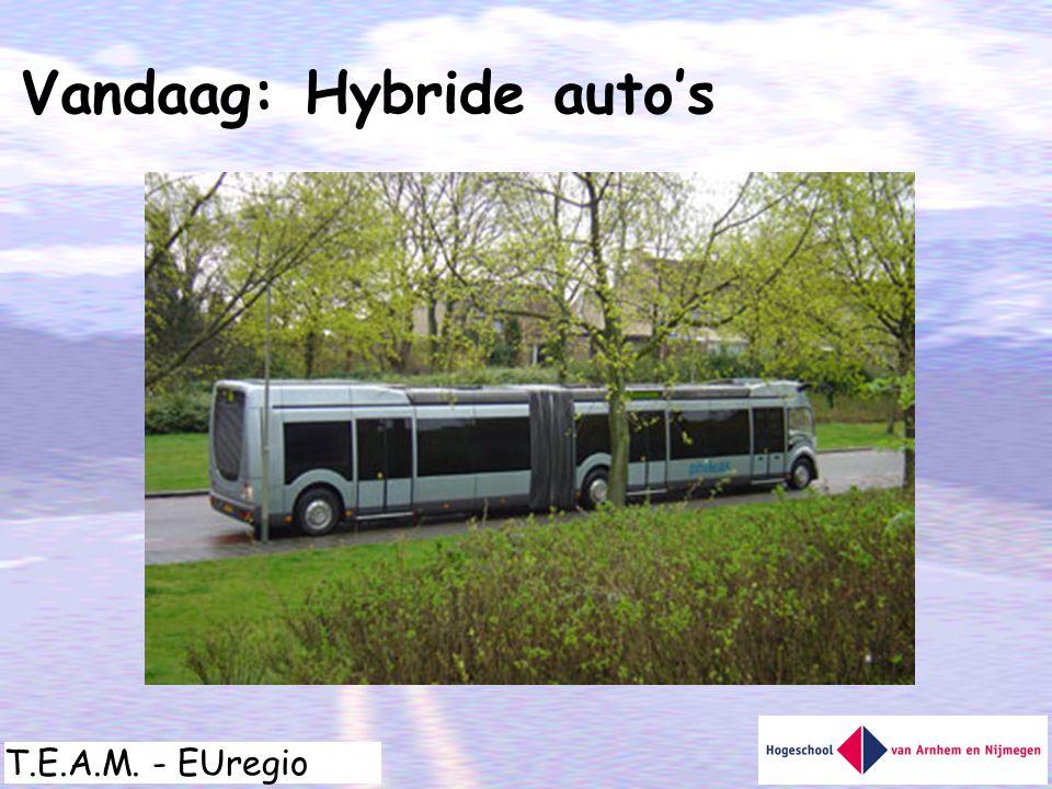 Vandaag: Hybride auto's