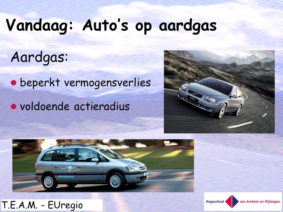 Vandaag: Auto's op aardgas