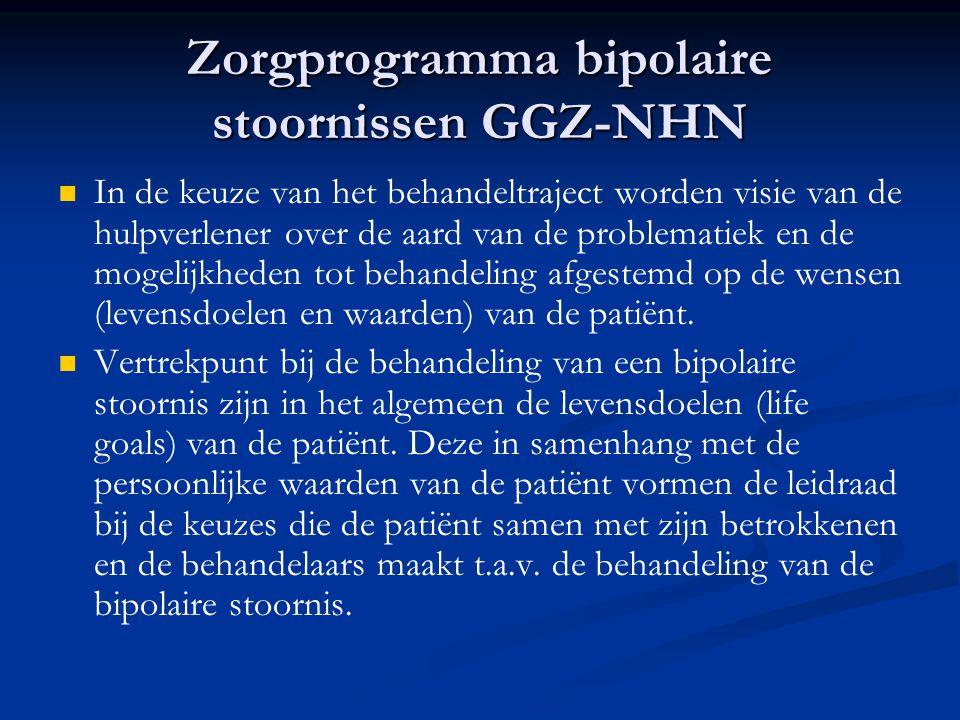 Zorgprogramma bipolaire stoornissen GGZ-NHN