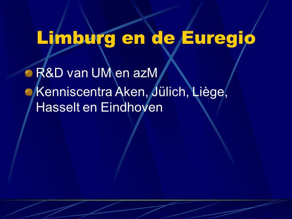 Limburg en de Euregio R&D van UM en azM