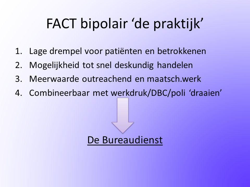 FACT bipolair 'de praktijk'