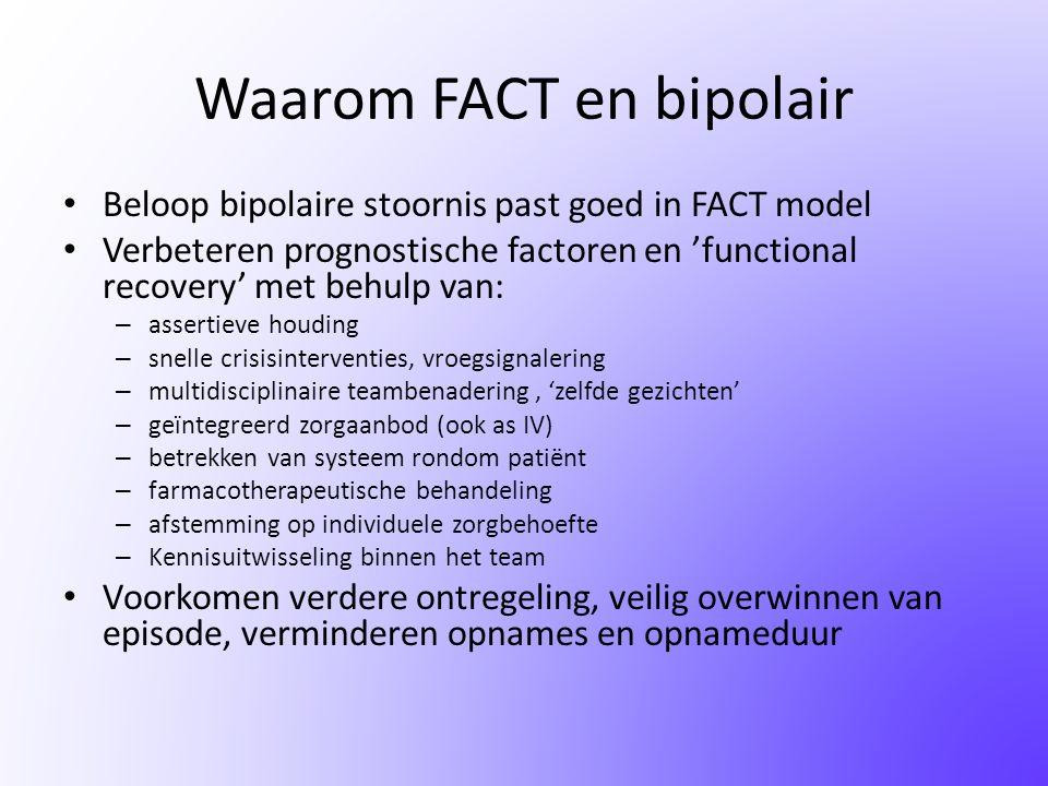 Waarom FACT en bipolair
