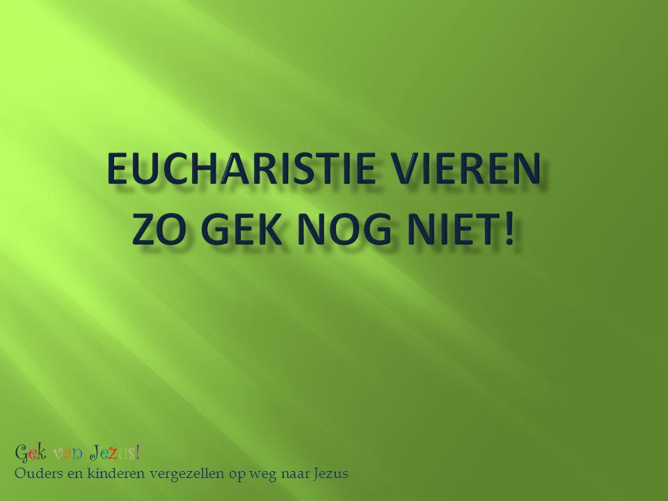 Eucharistie vieren zo gek nog niet!