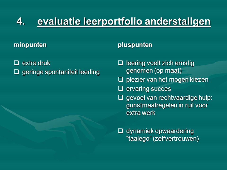 evaluatie leerportfolio anderstaligen