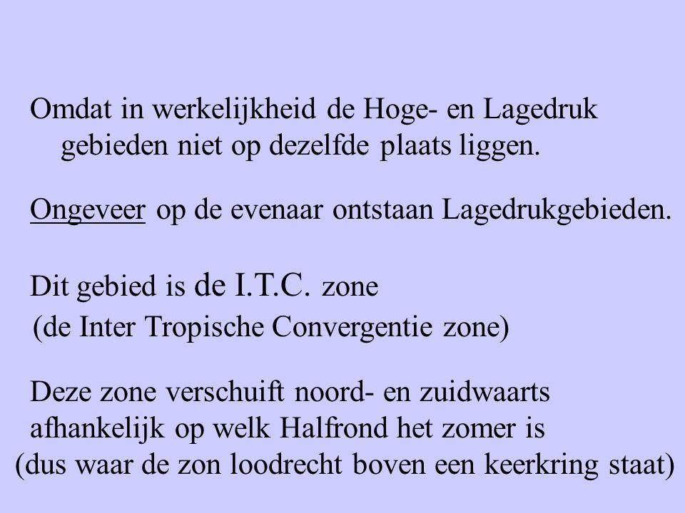 (de Inter Tropische Convergentie zone)