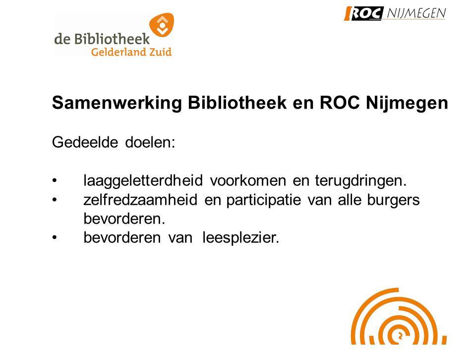 Samenwerking Bibliotheek en ROC Nijmegen