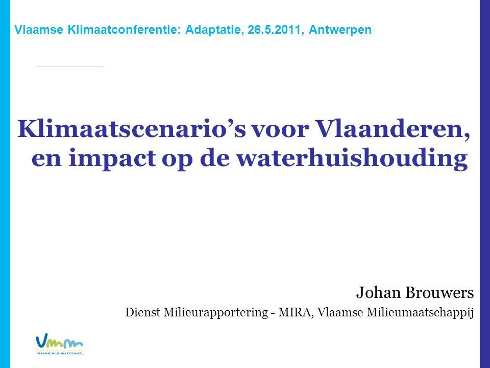 Vlaamse Klimaatconferentie: Adaptatie, 26.5.2011, Antwerpen