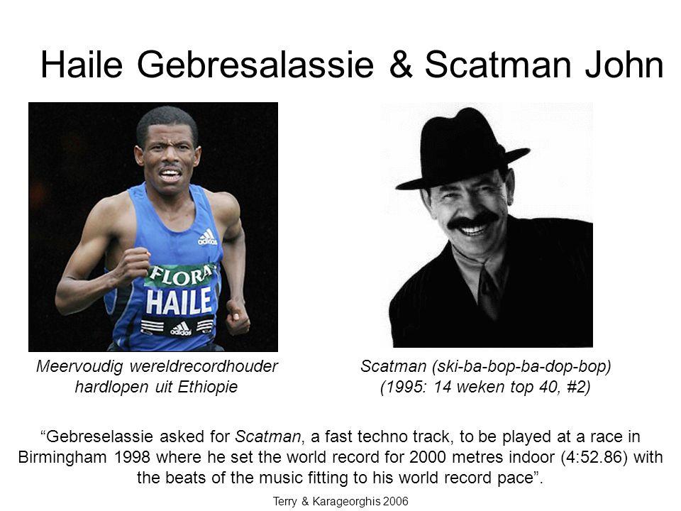 Haile Gebresalassie & Scatman John