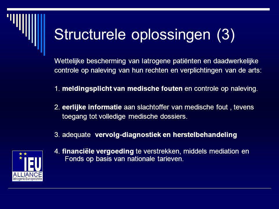 Structurele oplossingen (3)