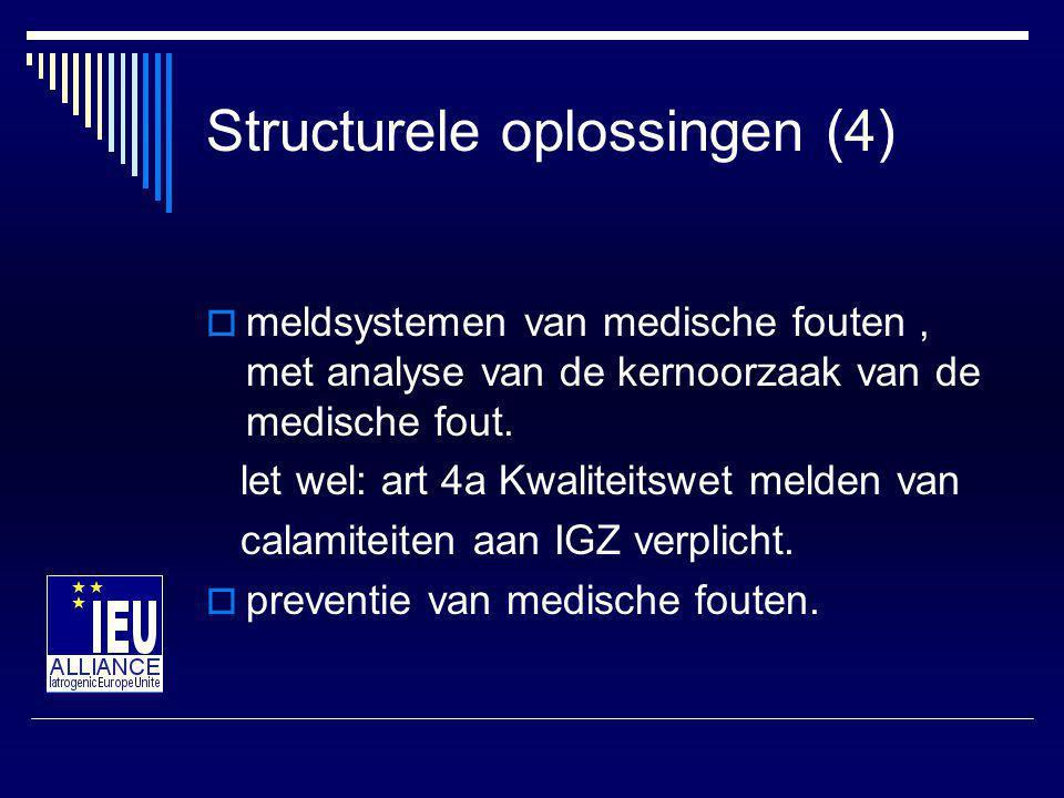 Structurele oplossingen (4)