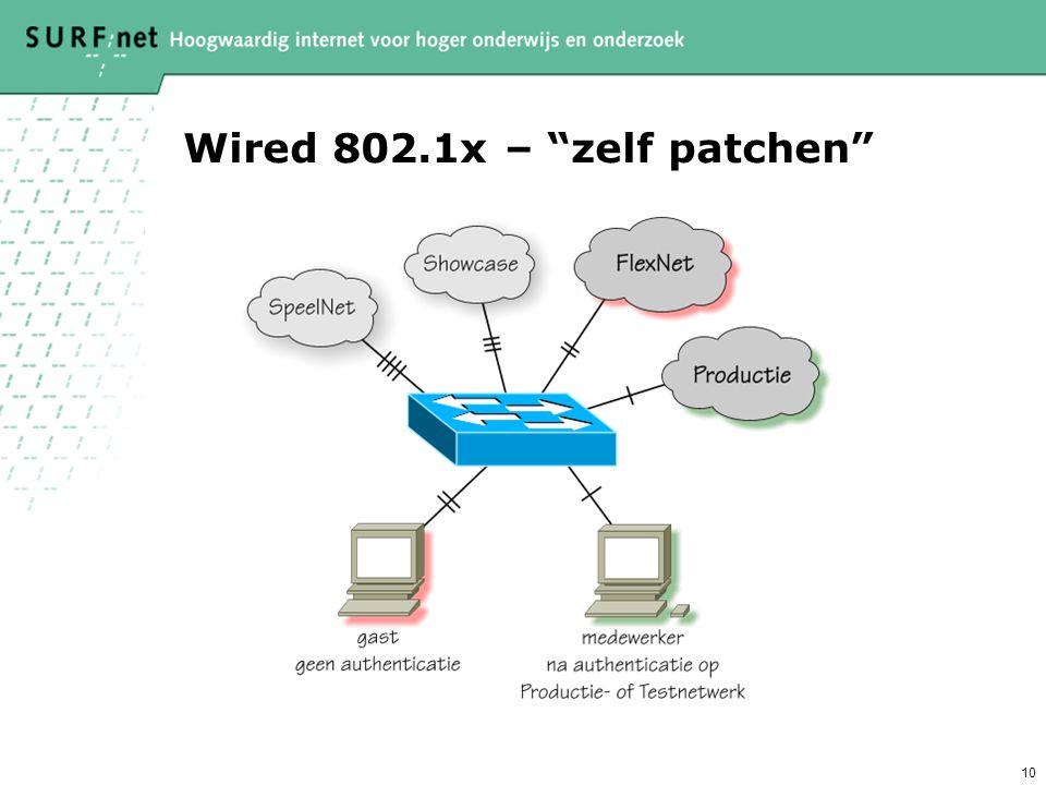 Wired 802.1x – zelf patchen