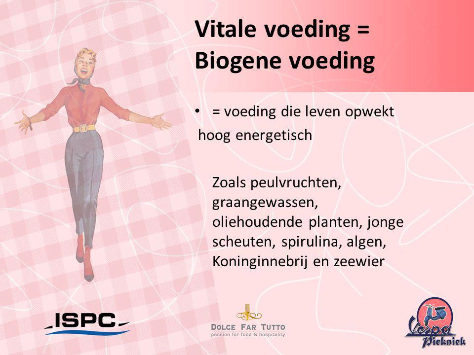 Vitale voeding = Biogene voeding