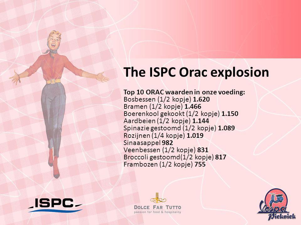 The ISPC Orac explosion