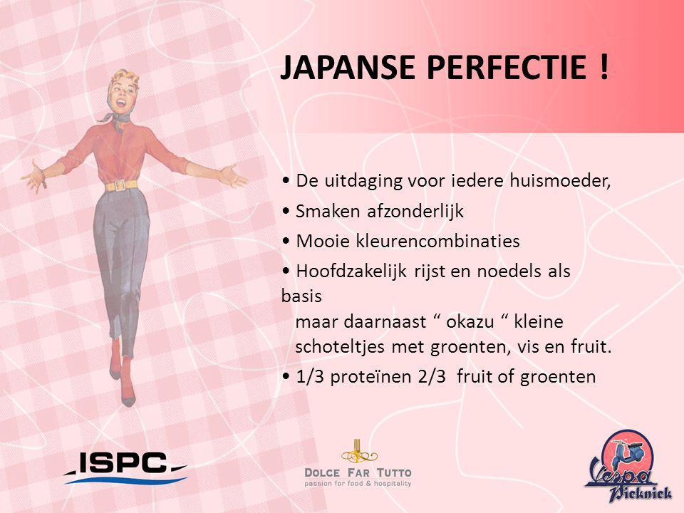 JAPANSE PERFECTIE ! • De uitdaging voor iedere huismoeder,