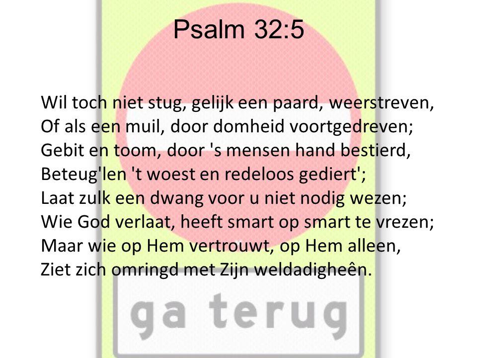 Psalm 32:5