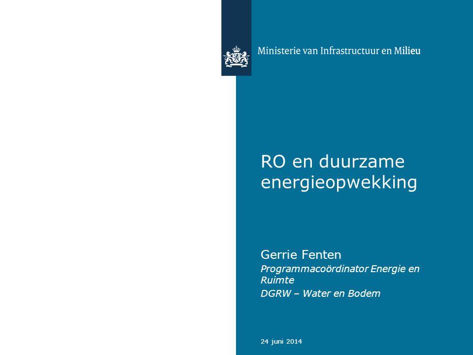 RO en duurzame energieopwekking