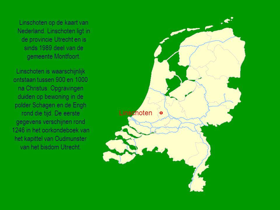 Linschoten op de kaart van Nederland