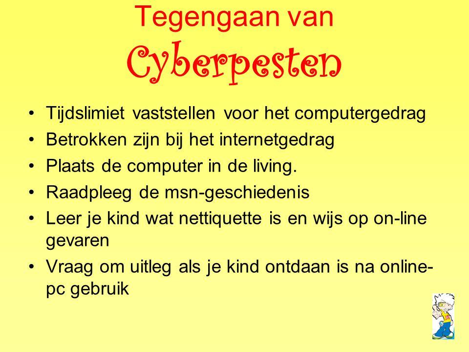 Tegengaan van Cyberpesten