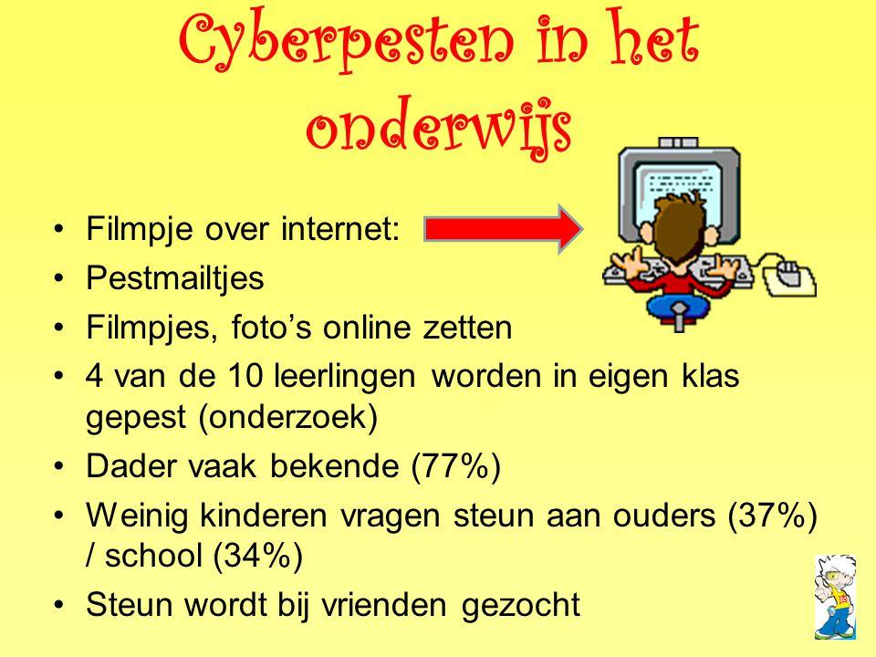 Cyberpesten in het onderwijs